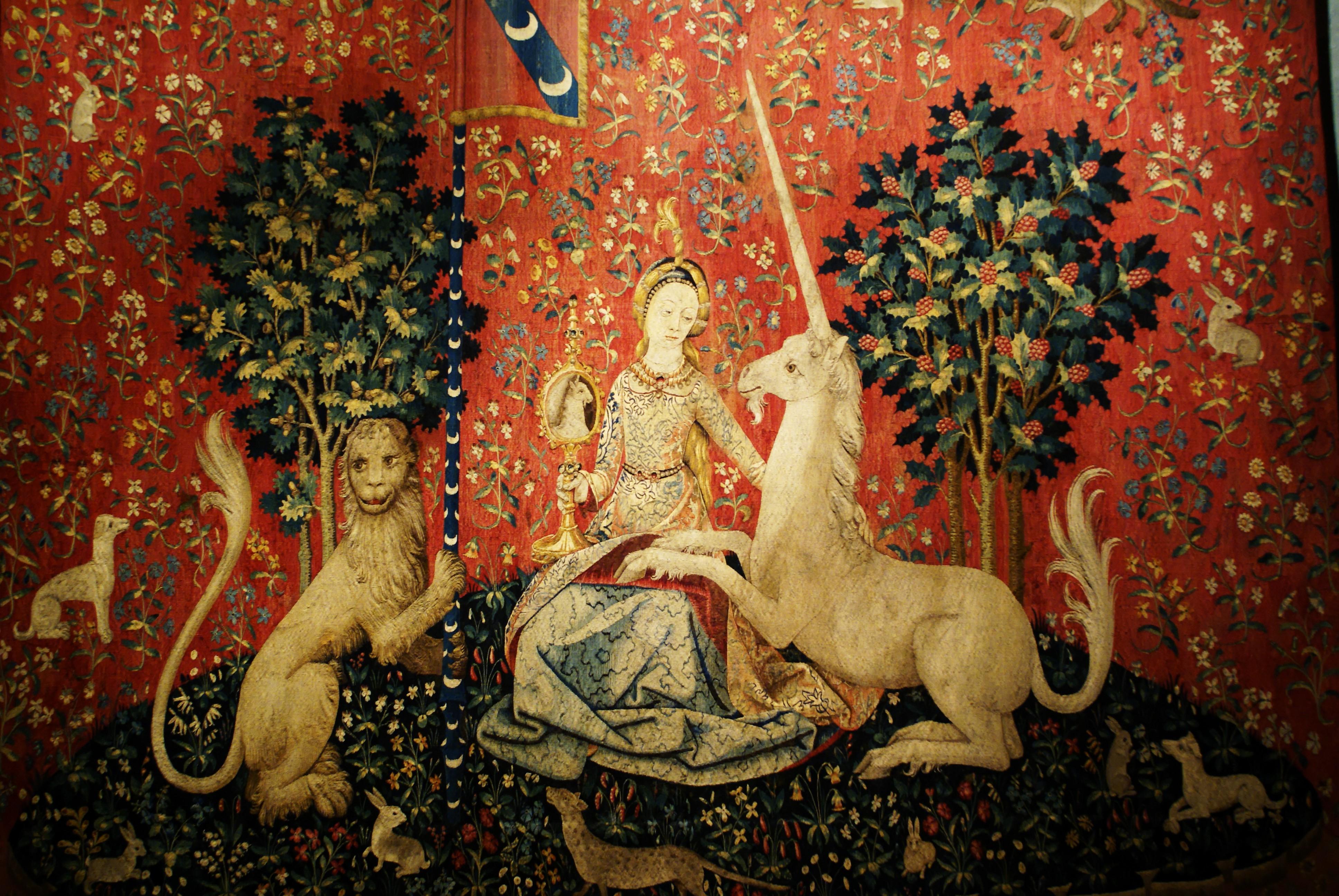 Figura 1. La dame à la licorne
