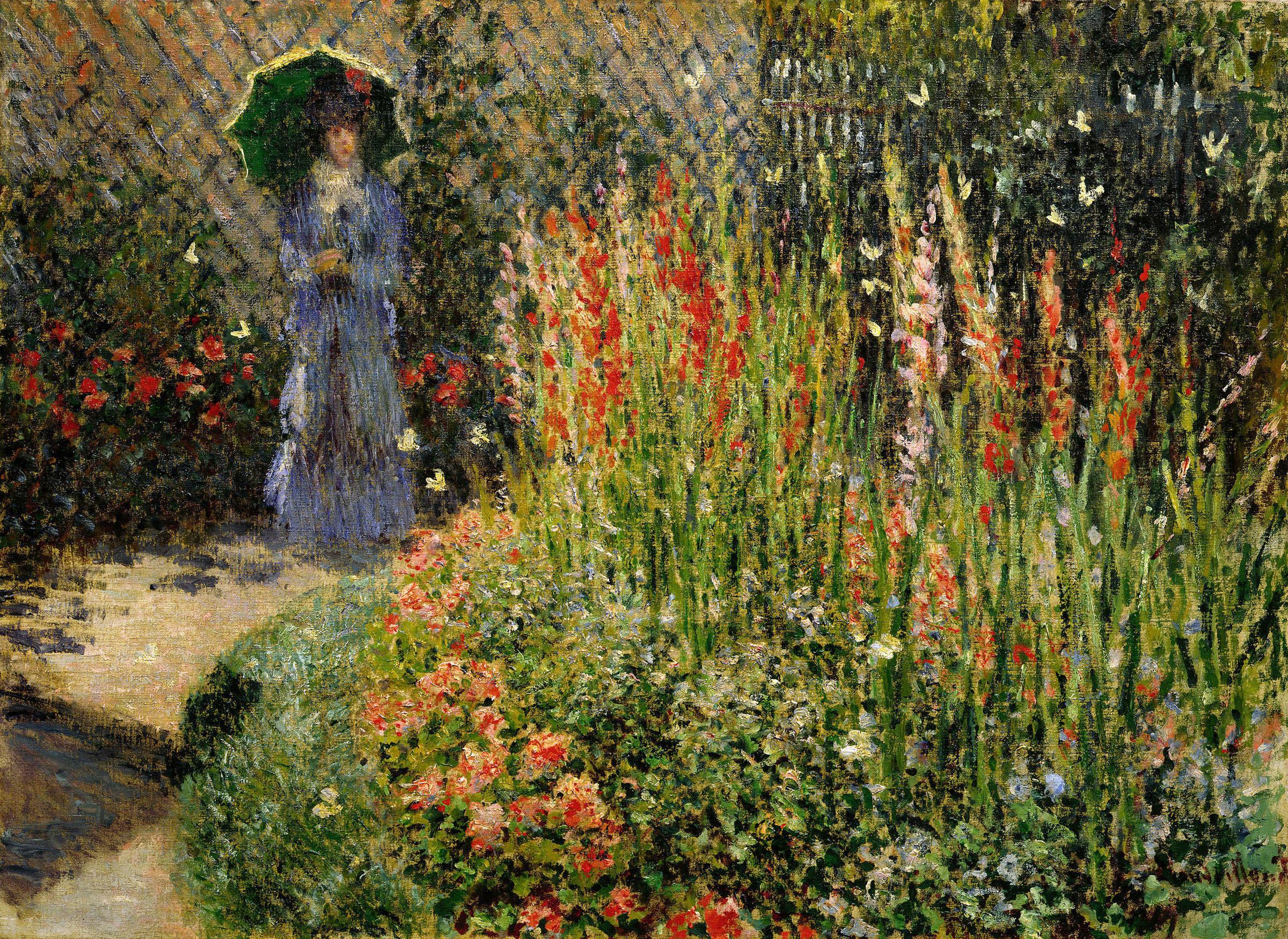 Figura 10. Claude Monet, Glaïeuls