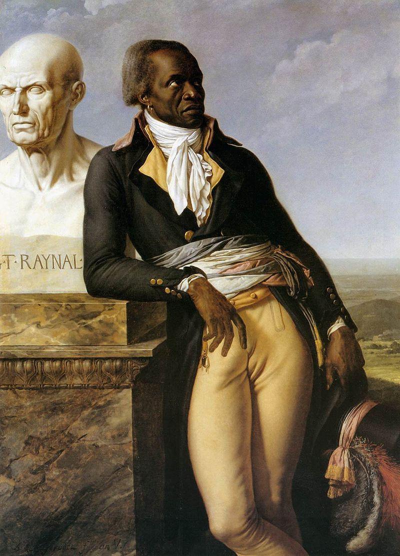Figura 12 - Anne Louis Girodet-Trioson. Retrato de J. B. Belley (1797). Versailles, Musée National du Château.