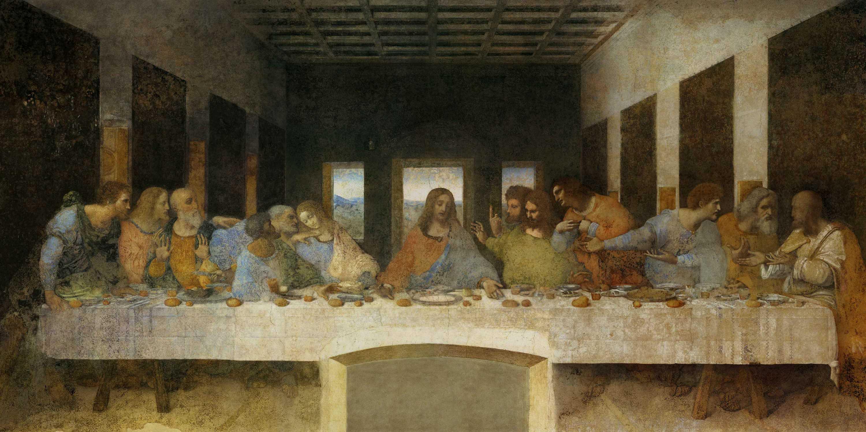 Figura 9. Leonardo da Vinci, A última ceia