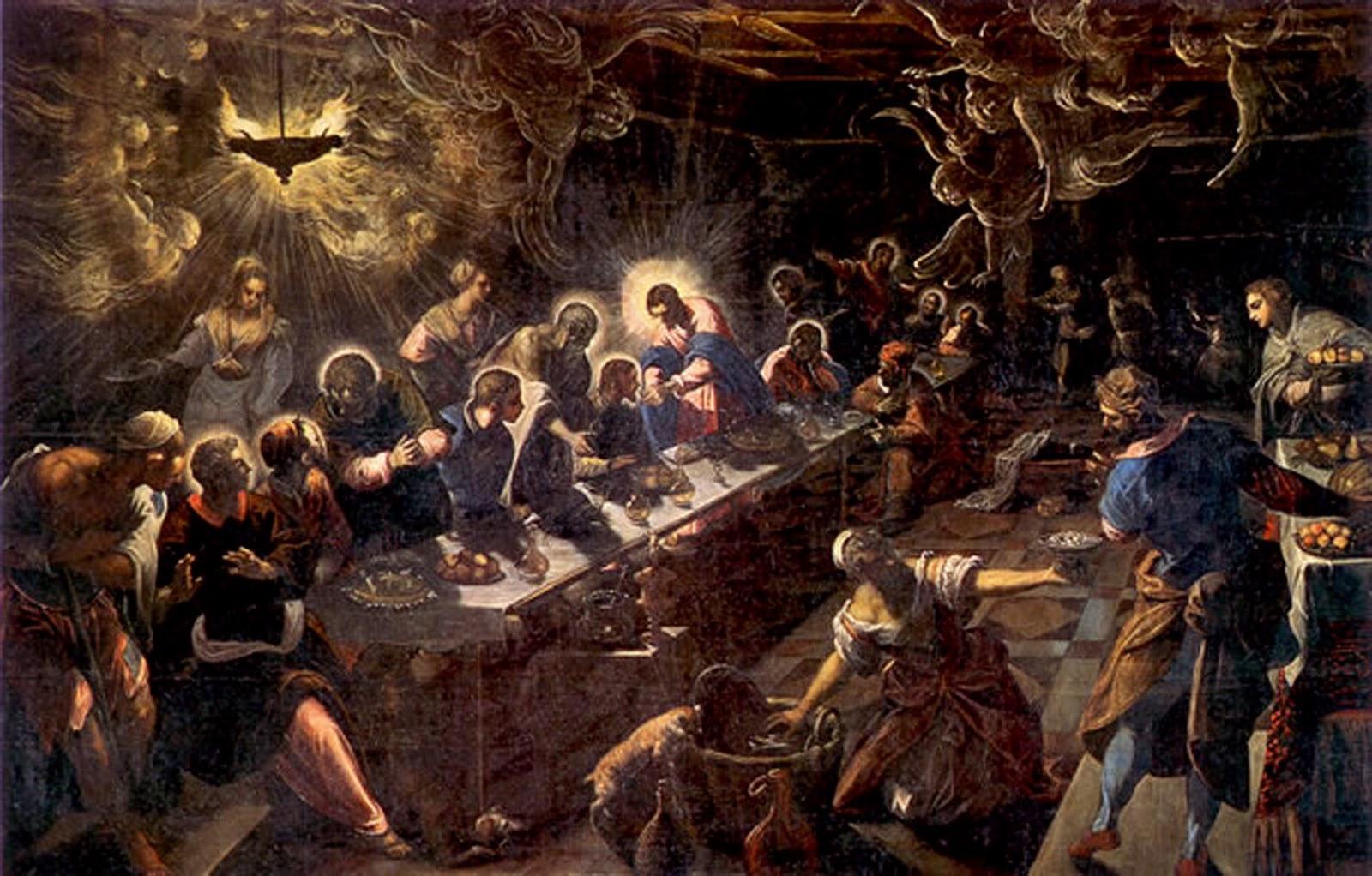 Figura 18. Jacopo Tintoretto, Última ceia