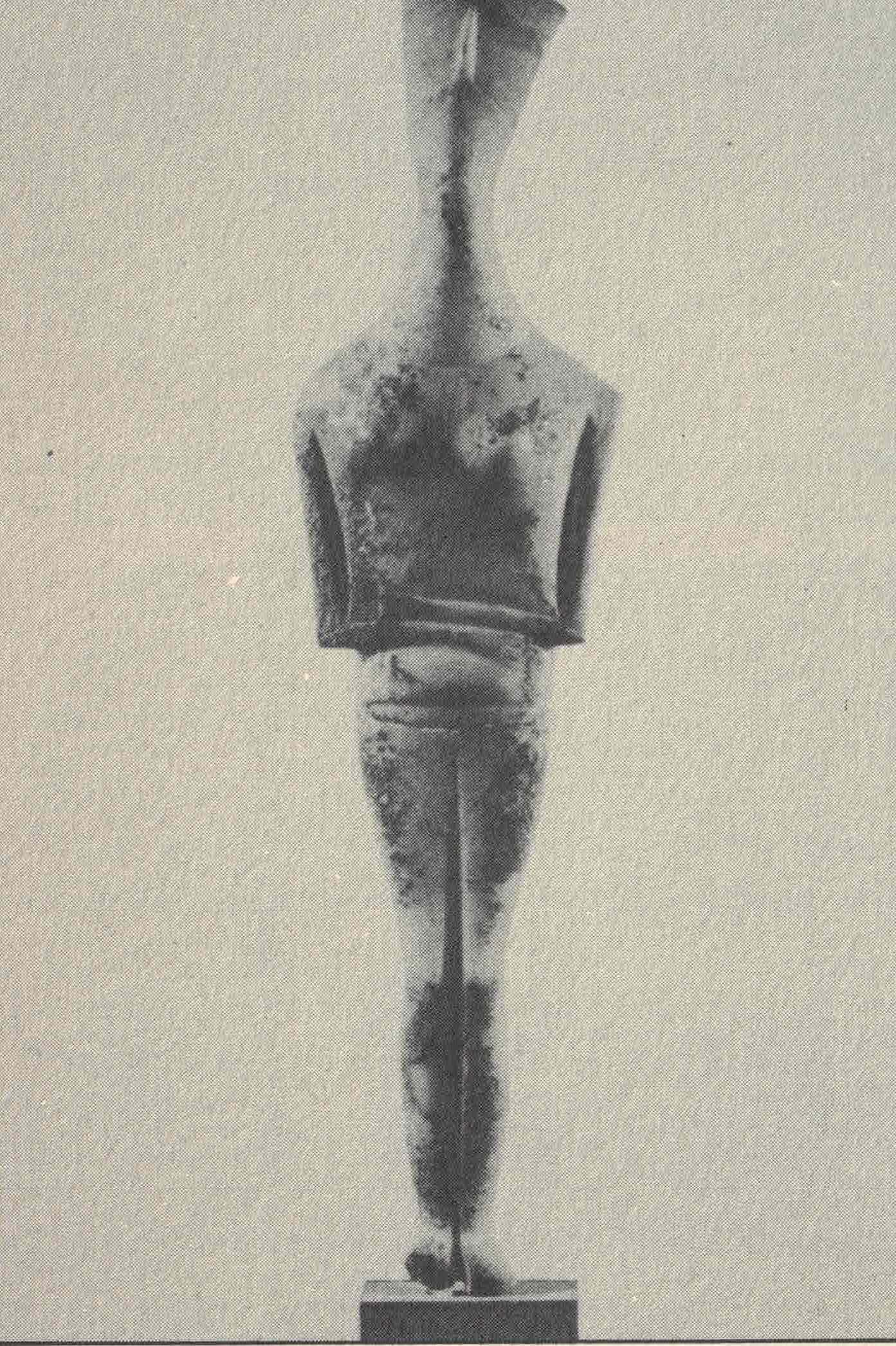 Figura 20. Estatueta ciclédica em mármore (2200 a.C.)