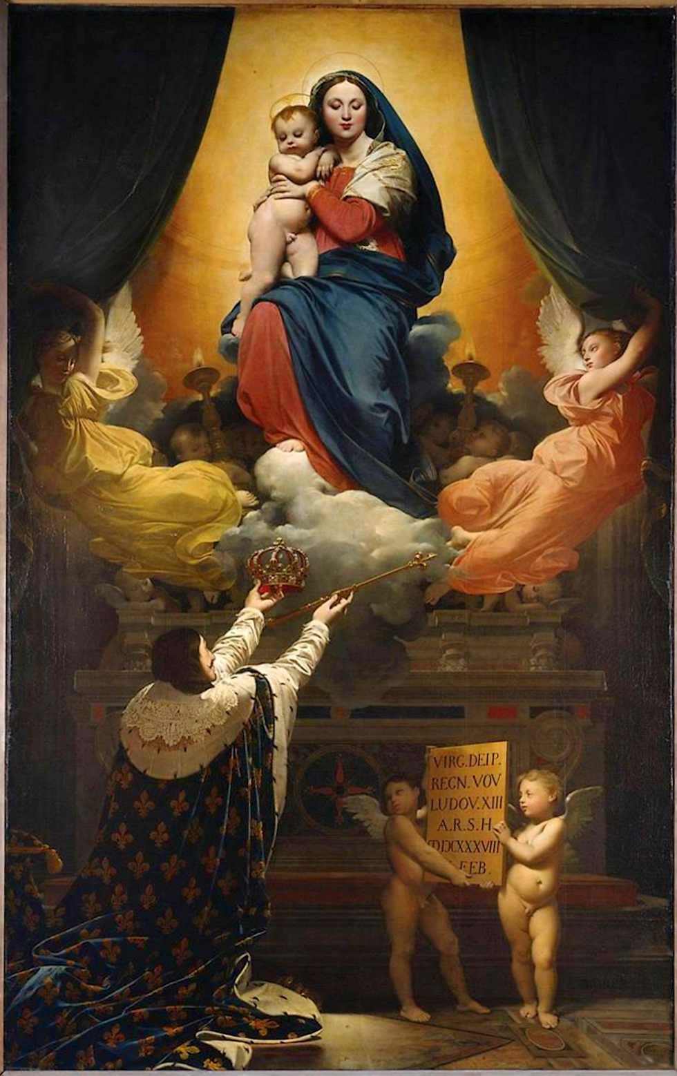 Figura 22 - J.-D.-A. Ingres. O voto de Luis XIII (1824). Montauban, Catedral.
