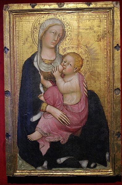 Figura 5. Giovani Fei, Madona com menino Jesus