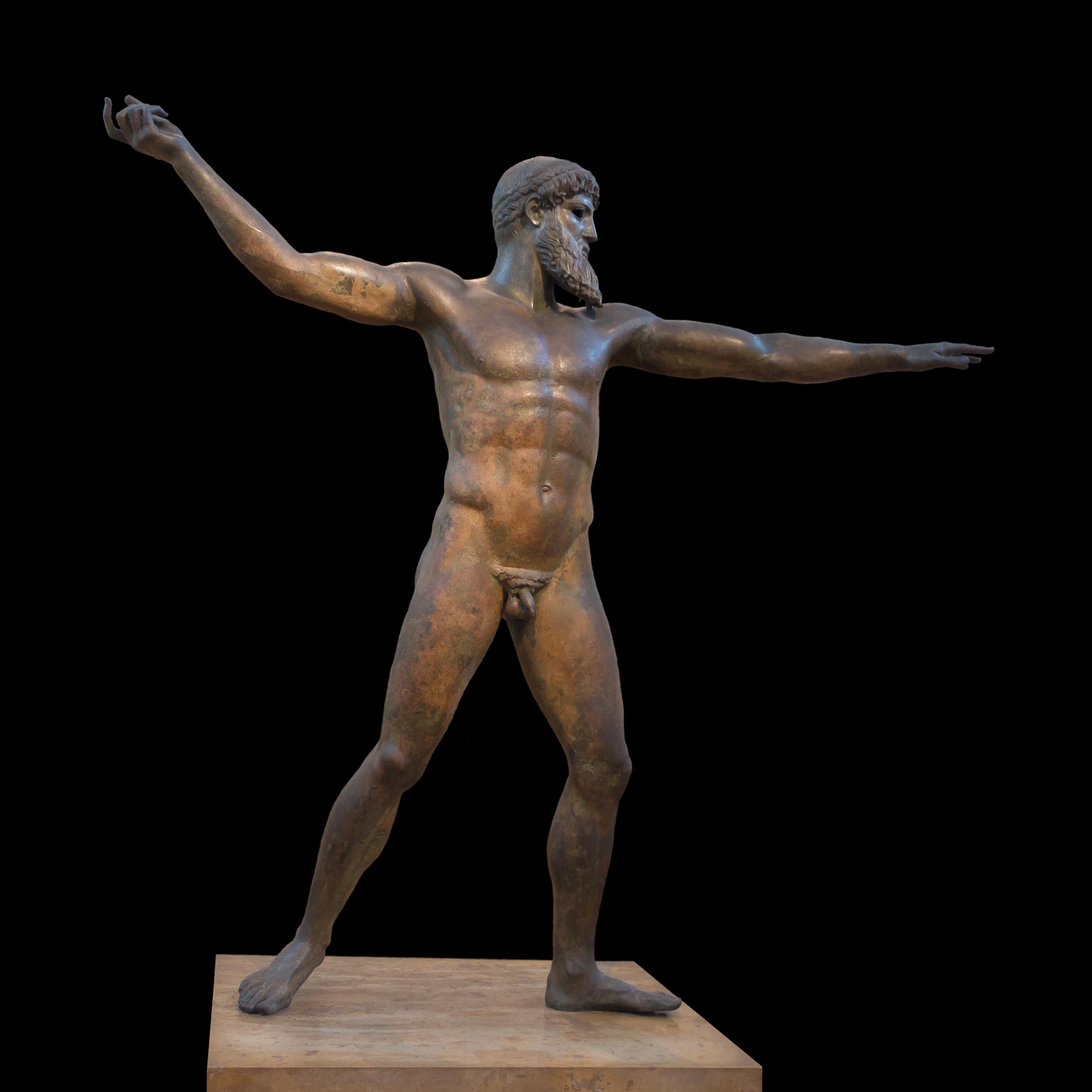 Figura 19. Poseidon em bronze (século V a.C.)