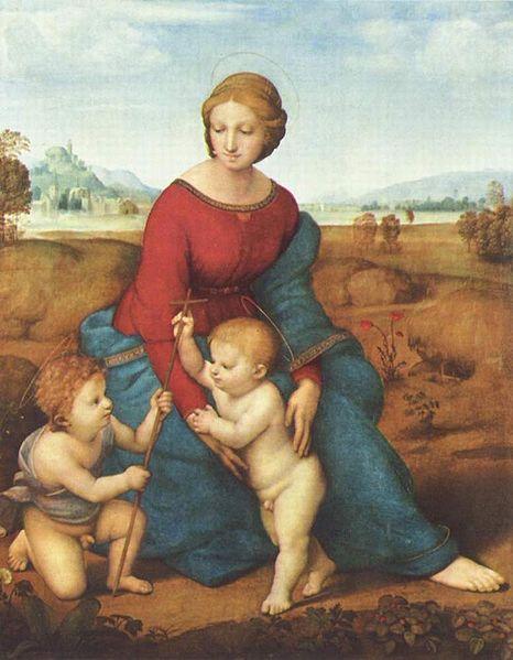 Figura 6. Rafael, Madona no prado