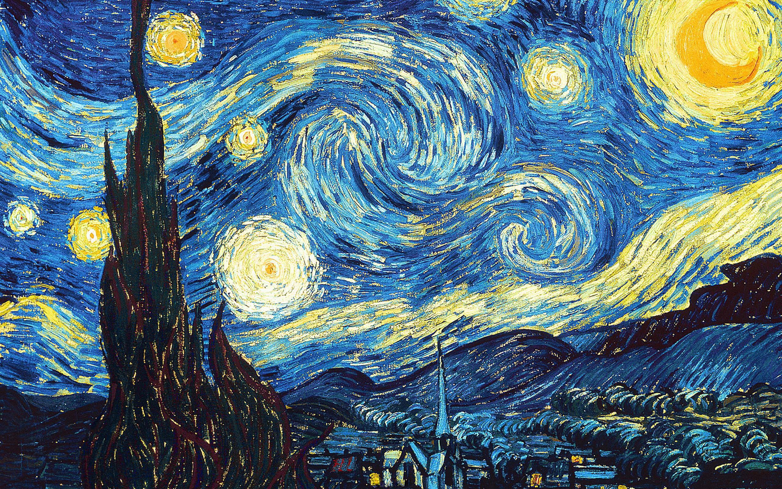 Figura 16. Vincent Van Gogh, A noite estrelada