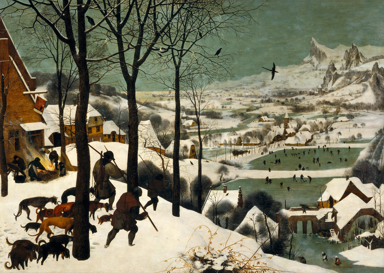 Figura 14. Pieter Brueghel, Caçadores na neve