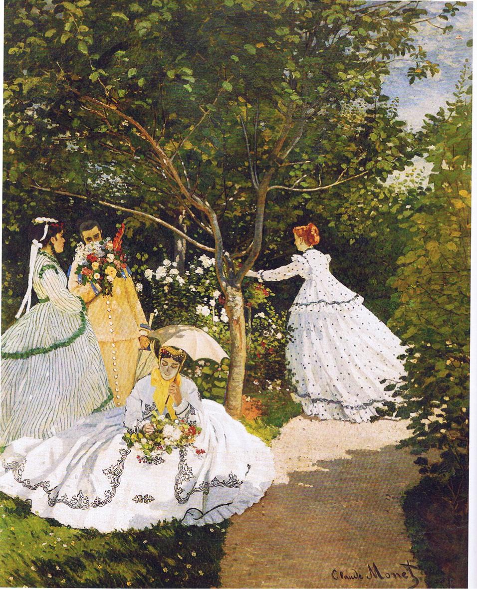 Figura 4. Claude Monet, Femmes au jardin