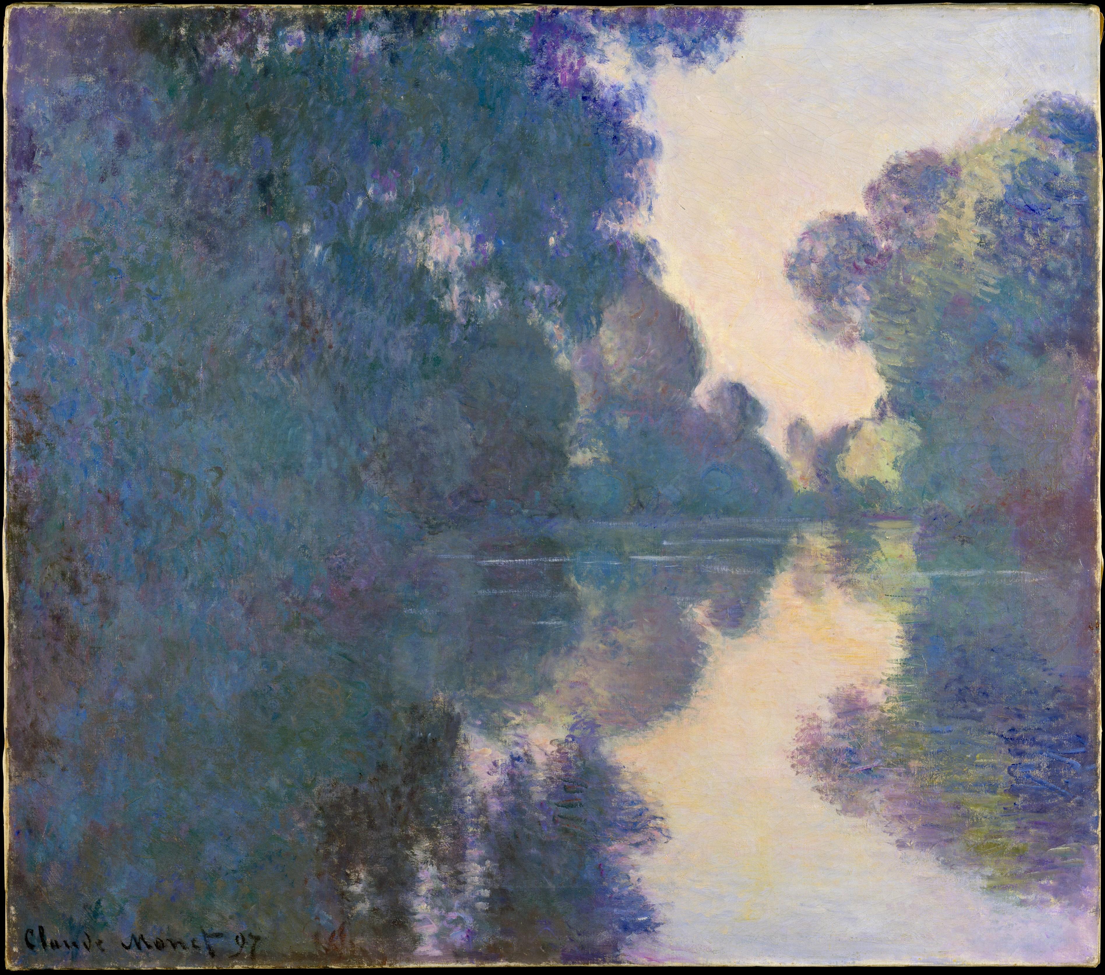Figura 5. Claude Monet, Bras de Seine prés de Giverny