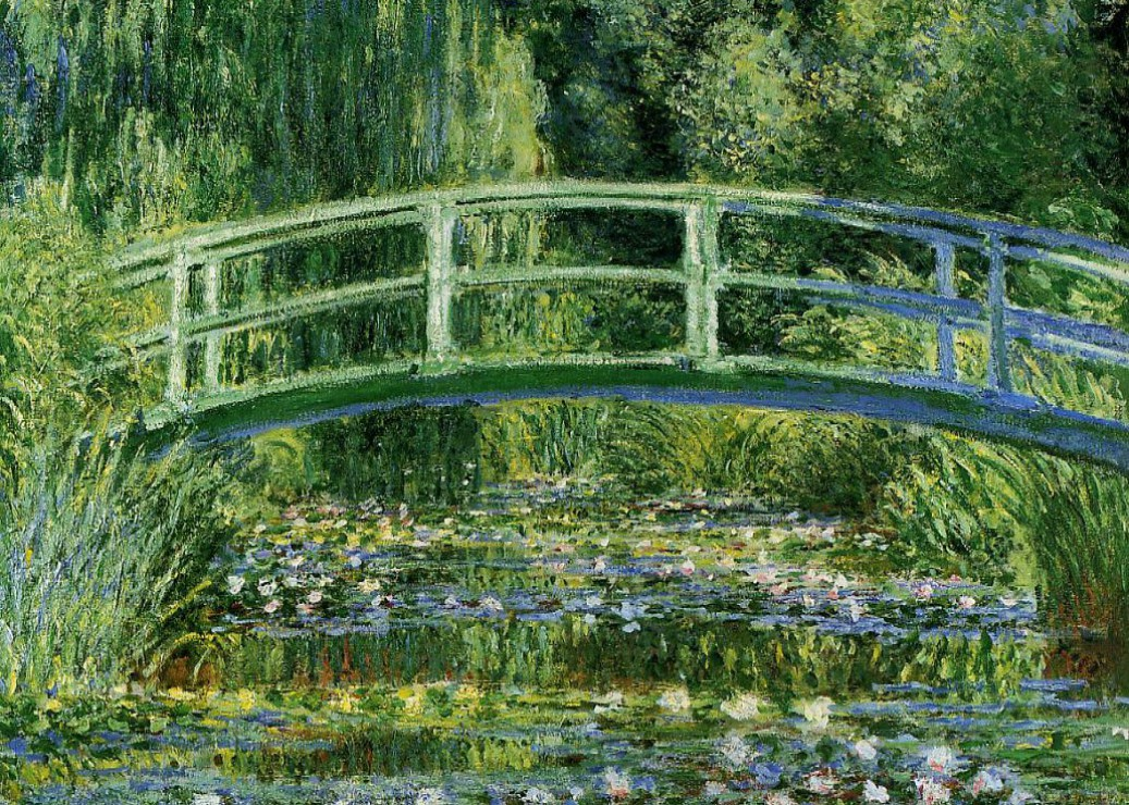 Figura 6. Claude Monet, Le bassin aux nimphéas, harmonie verte