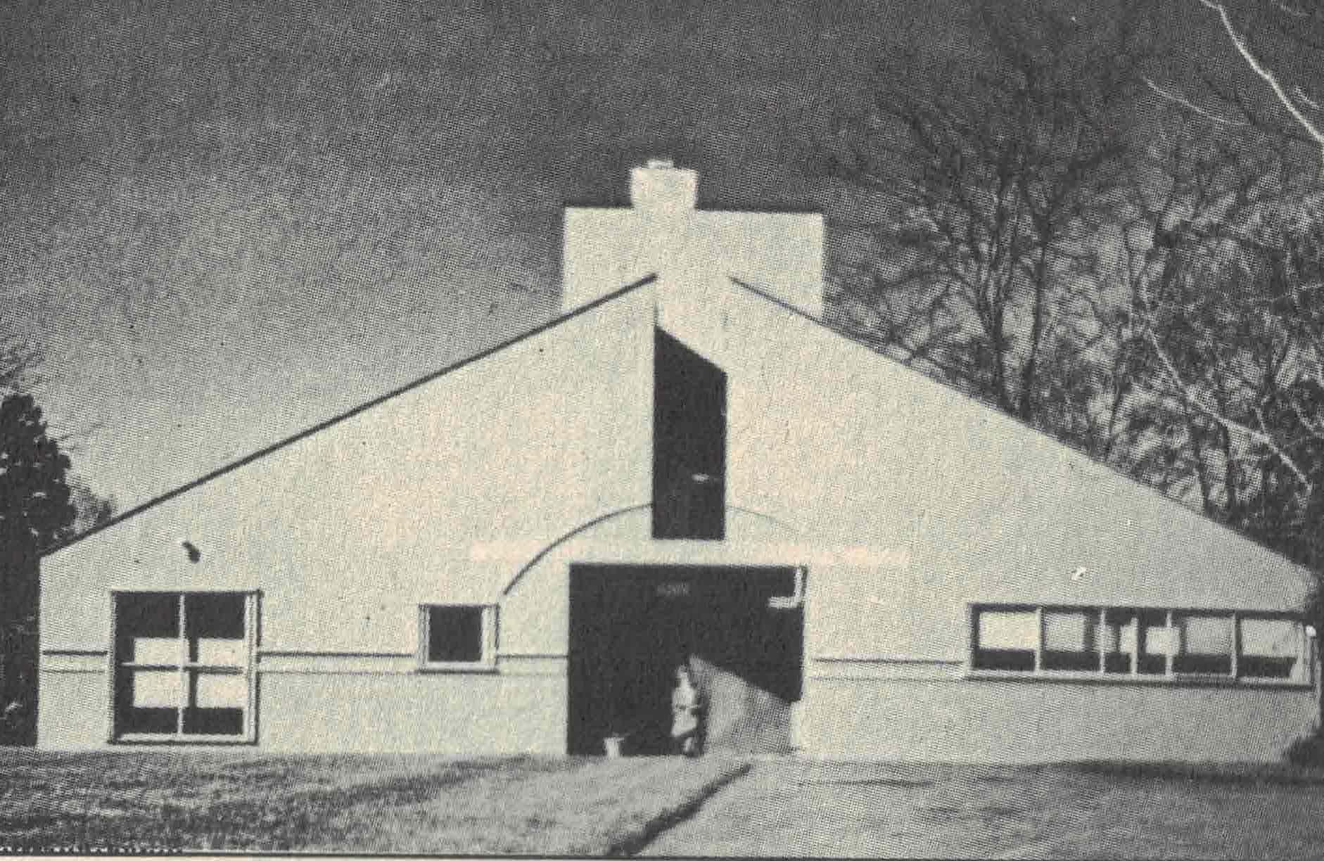 Figura 10. Venturi e Rauch, Chestnut Hill, 1962