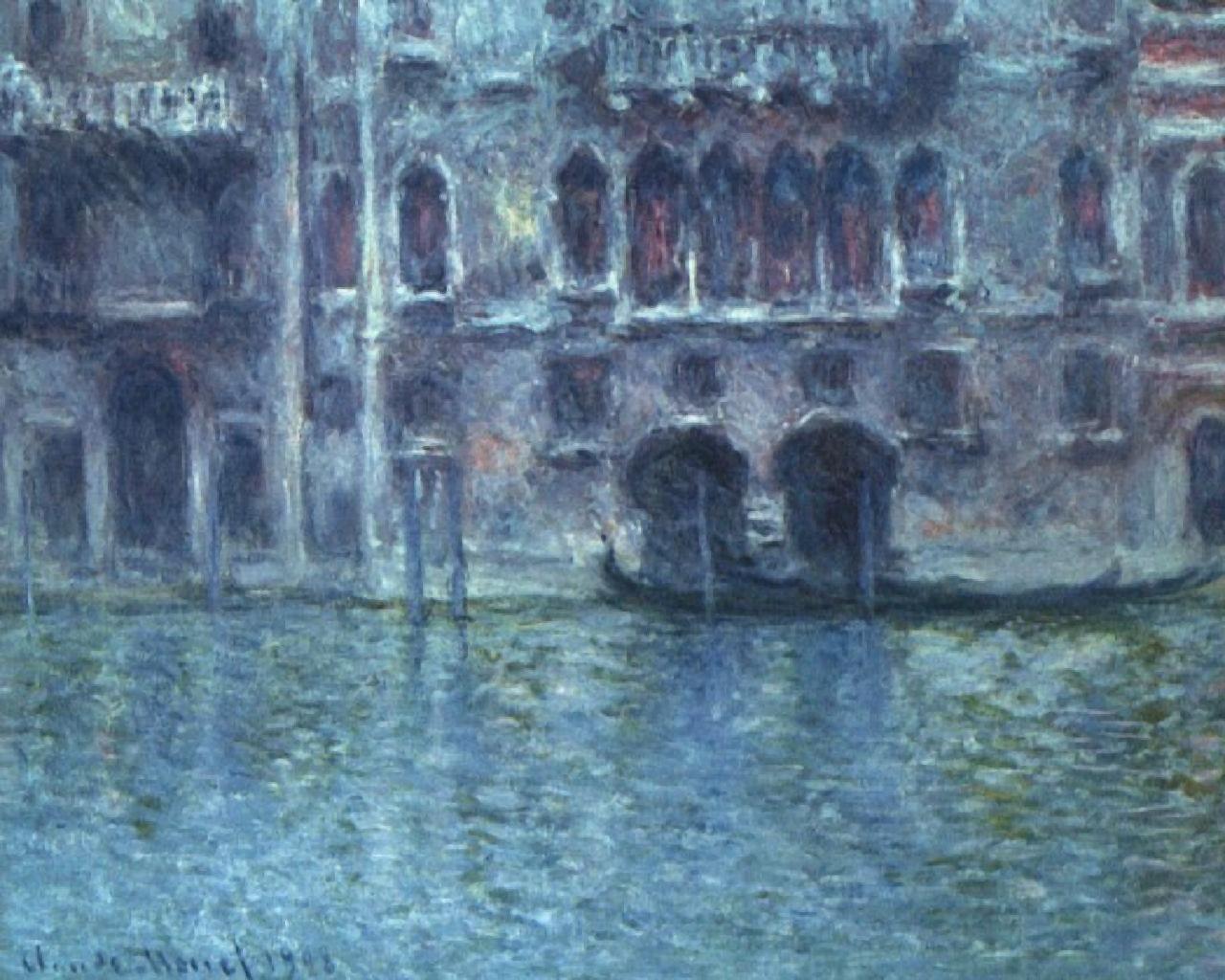 Figura 7. CLaude Monet, Le palais de Mula