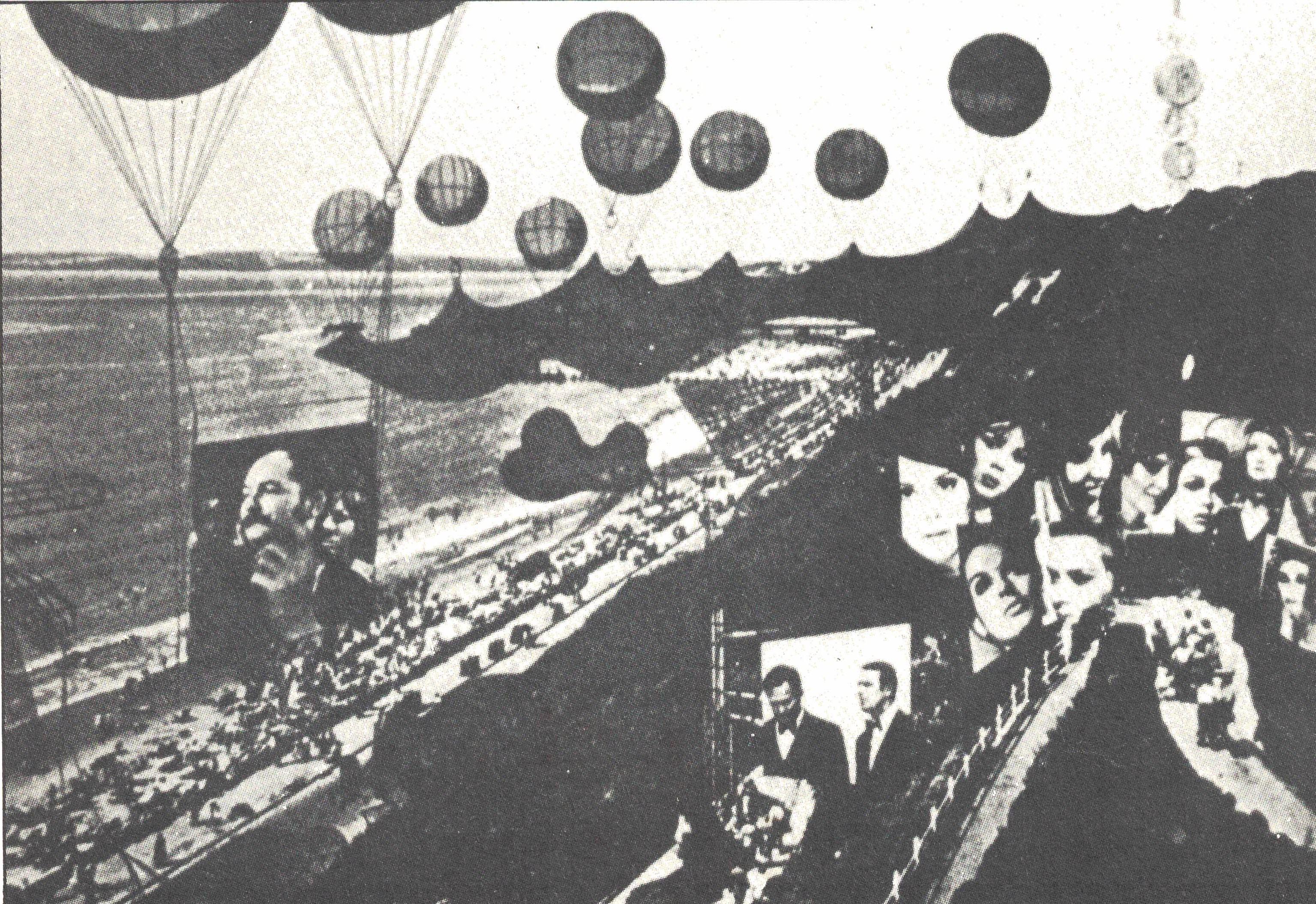 Figura 14. Peter Cook (Archigram), Projeto para uma Instant-City, 1969