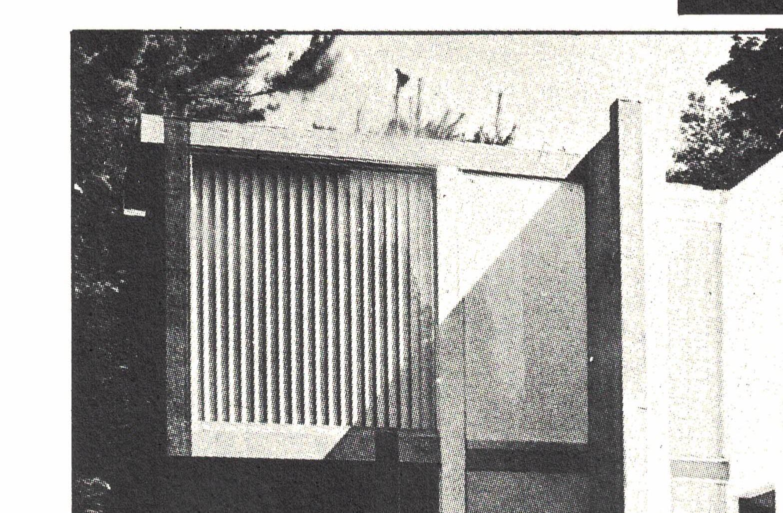 Figura 19. Eiseman, Casa VI, Washington, 1975