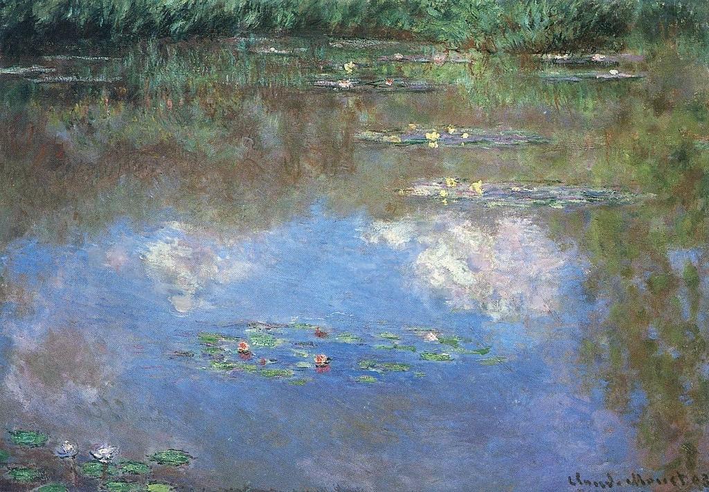Figura 8. Paysage d'eau, le nuages