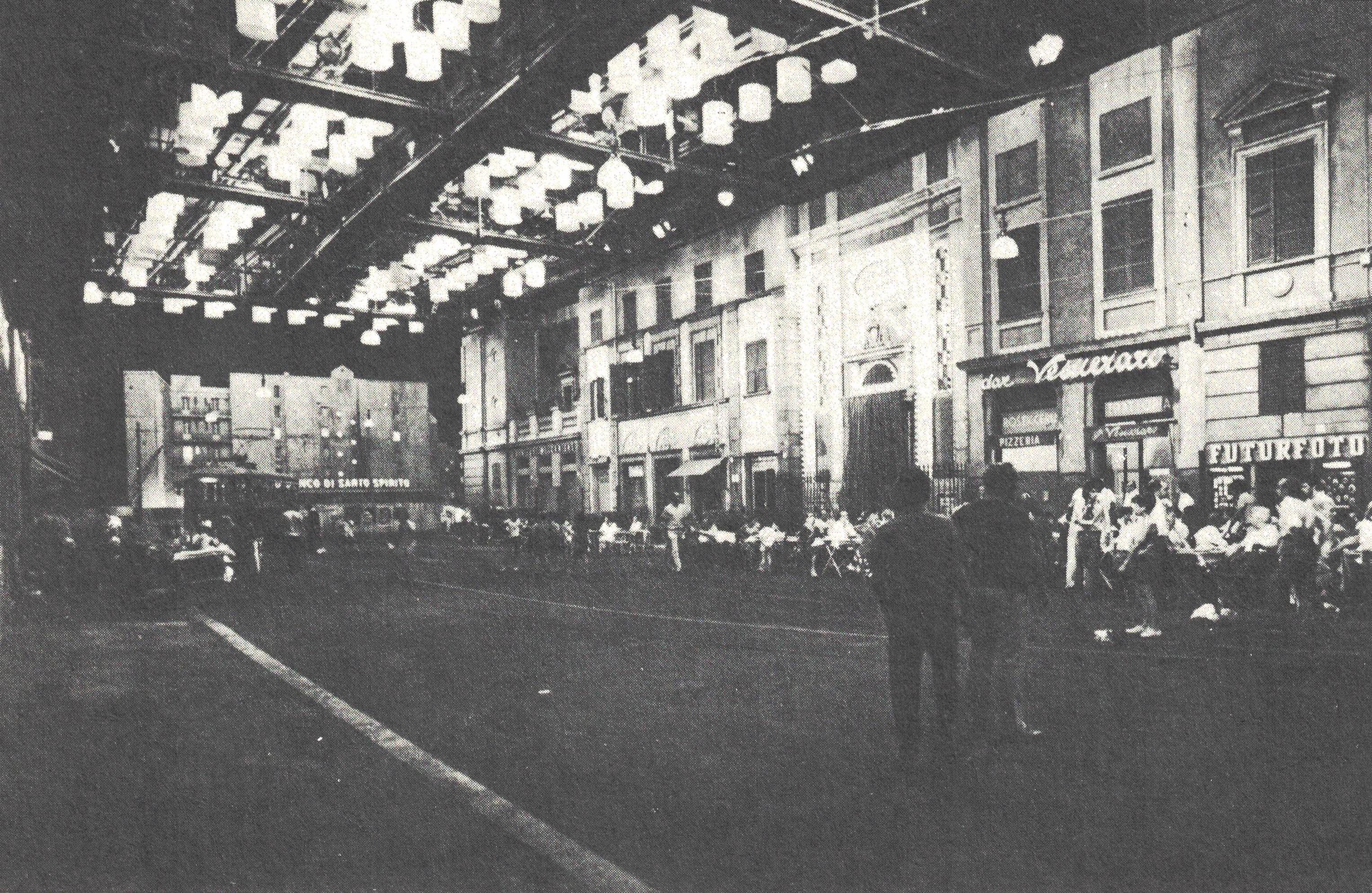 Figura 3. Roma de Fellini: flagrante de intervalo das filmagens