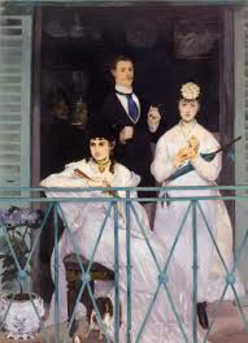 Figure 12. Goya, Mulheres no balcão.