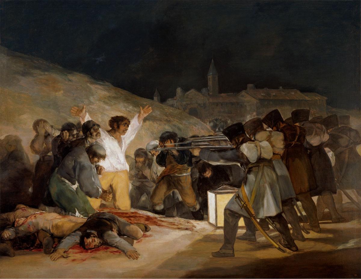 Figure 16. Goya, Fuzilamento de 3 de maio.