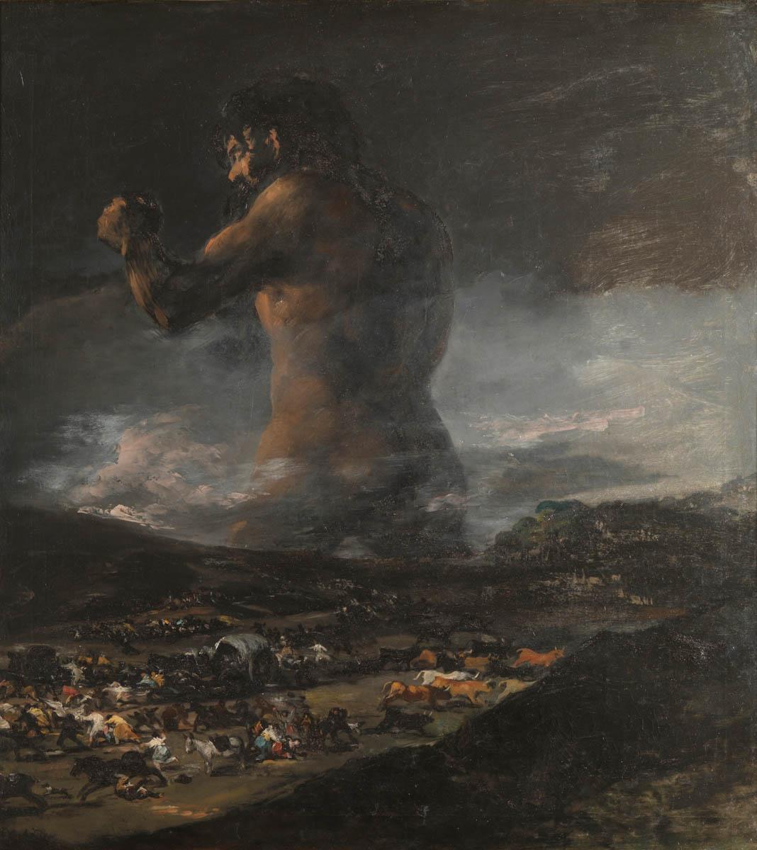 Figure 20. Goya, Gigante.