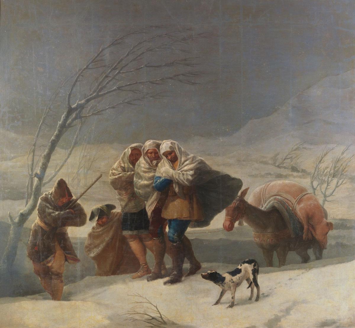 Figure 4. Goya, A nevada.