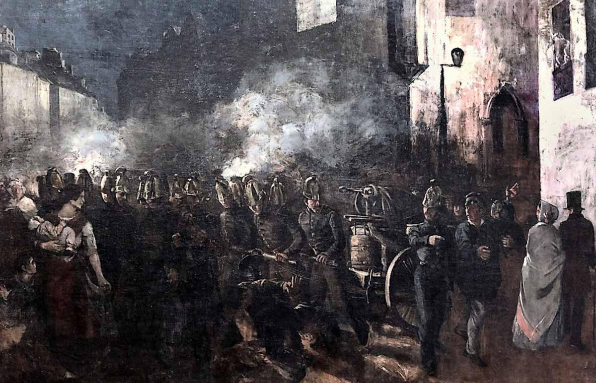 Figura 5 - Bombeiros que correm para um incêndio