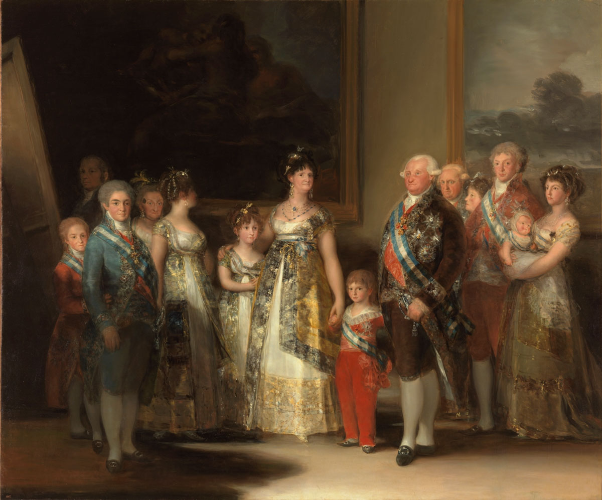 Figure 8. Goya, Retrato da Família Real.