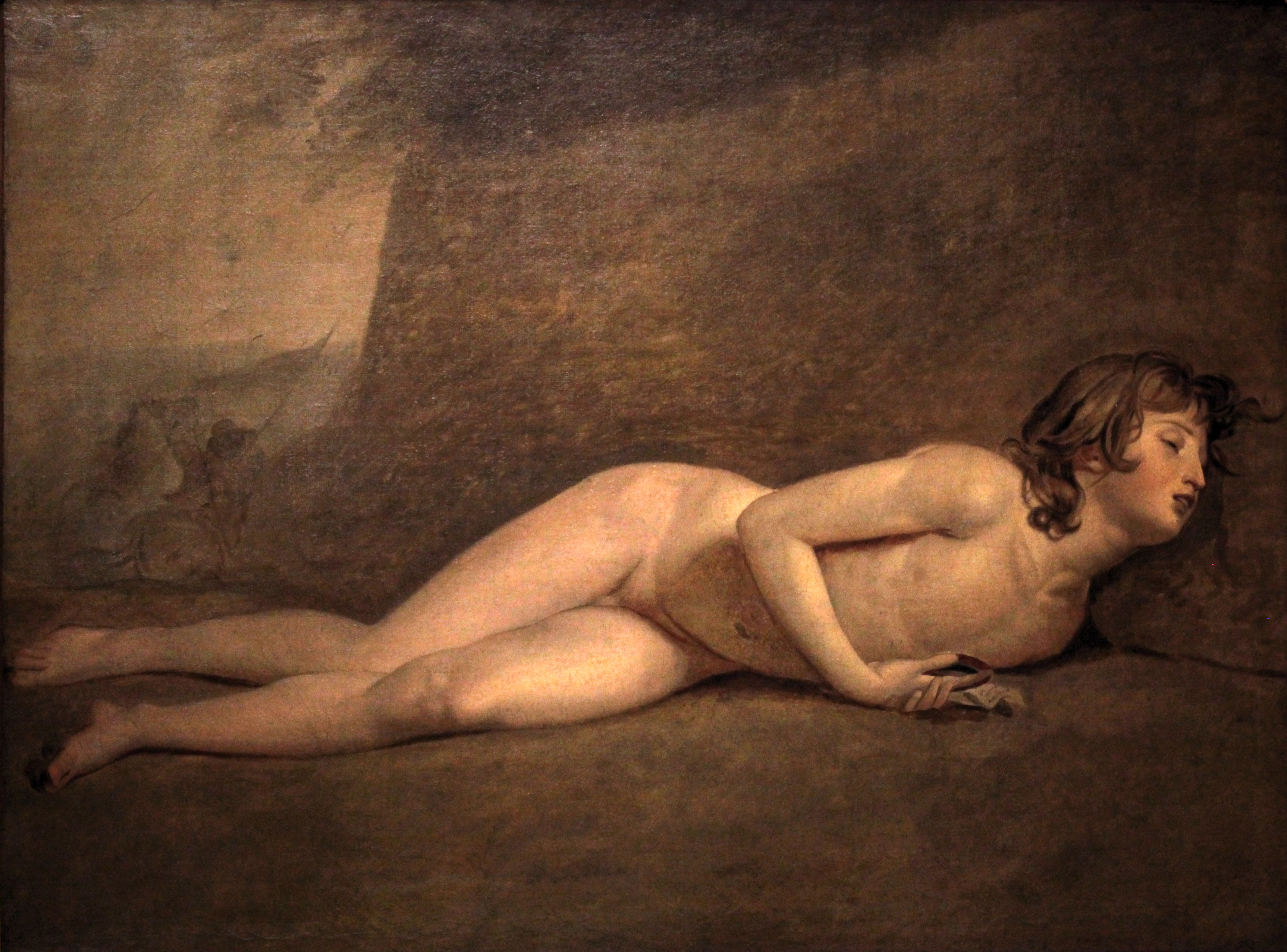 Figura 13 - Jacques-Louis David, A morte do jovem Bara