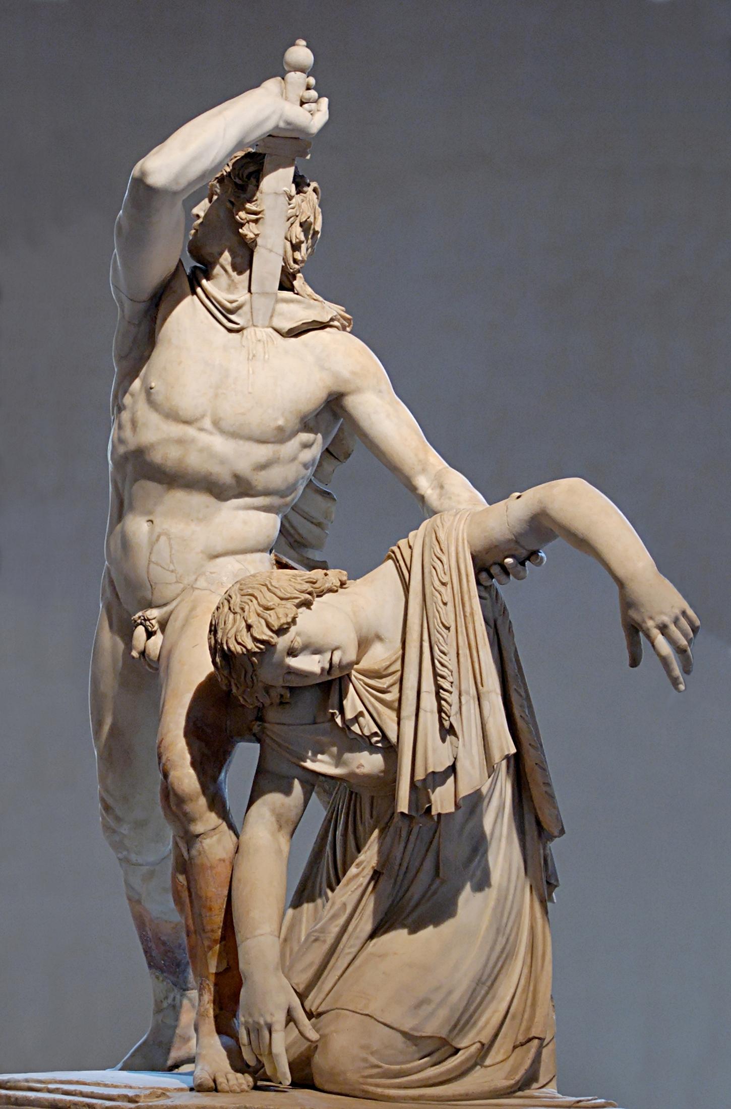 Figure 19 - Suicídio de Gálata, arte de Pérgamo