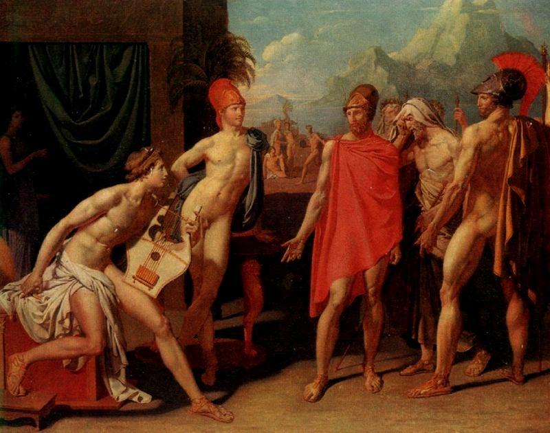 Figure 20 - Jean-Dominique Ingres, Aquiles recebendo os embaixadores