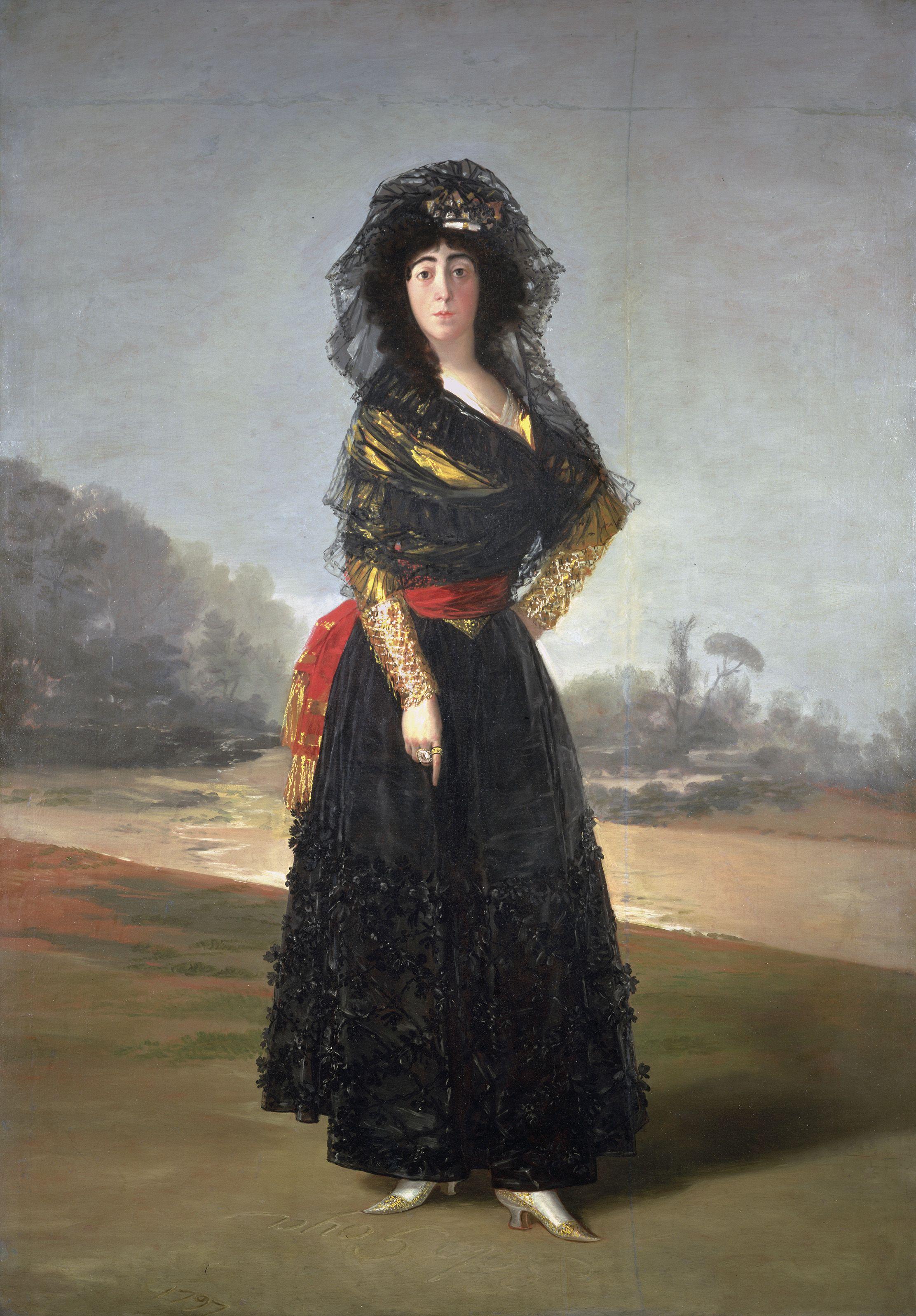 Figure 2. Goya, Duquesa de Alba.