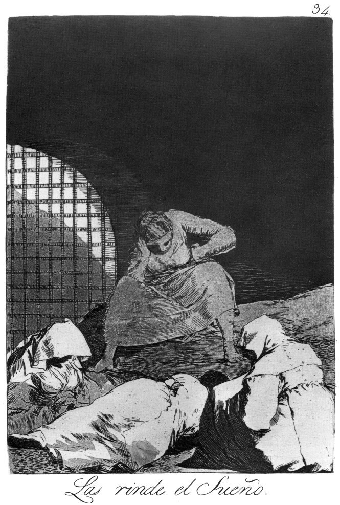 Figure 15. Goya, O sono as rendeu.