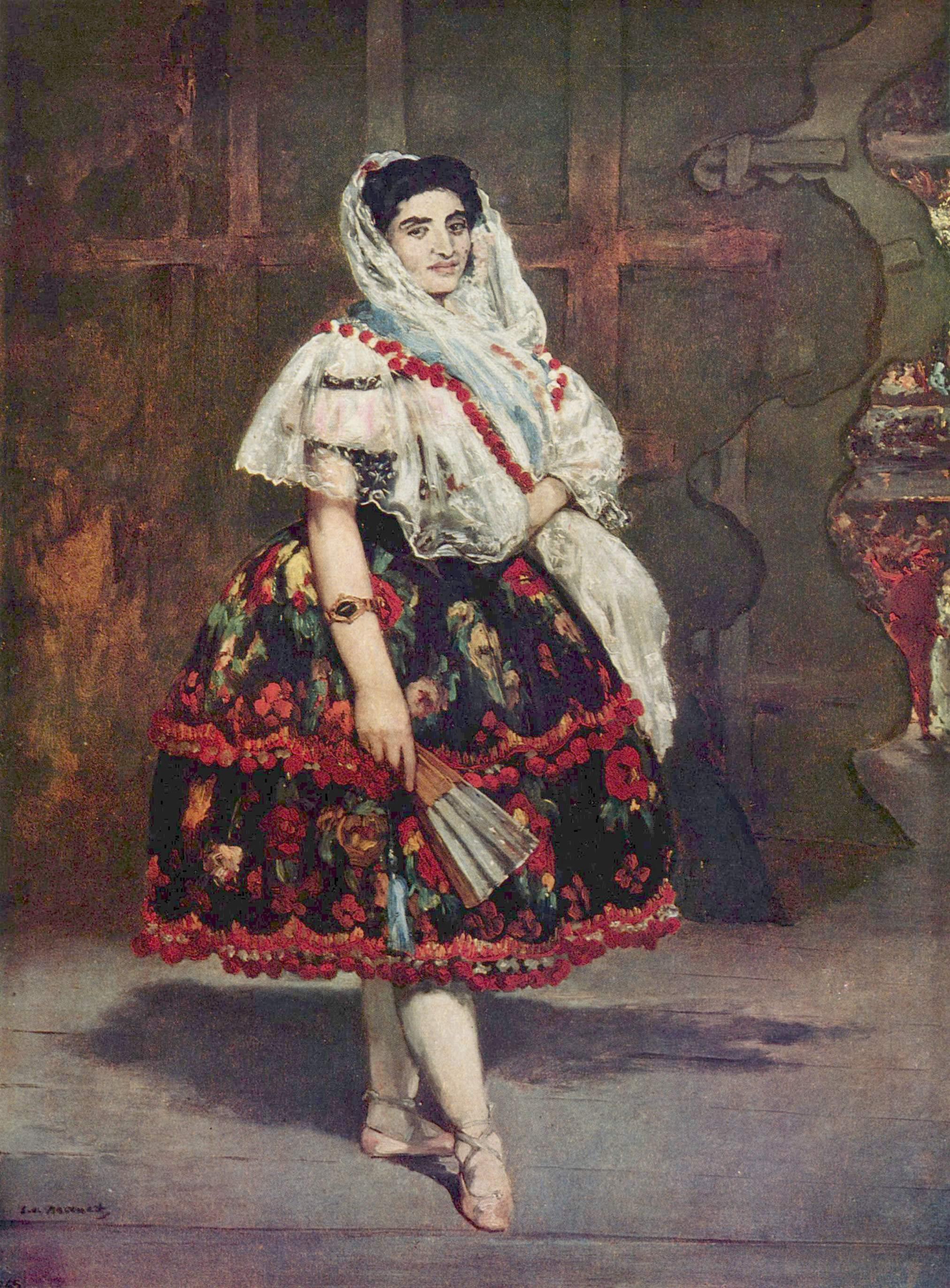 Figura 5 - Édouard Manet, Lola de Valência.