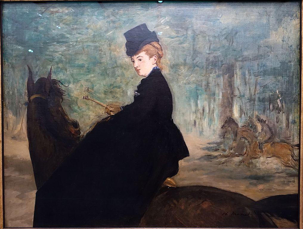 Figura 12. Édouard Manet, A amazona.