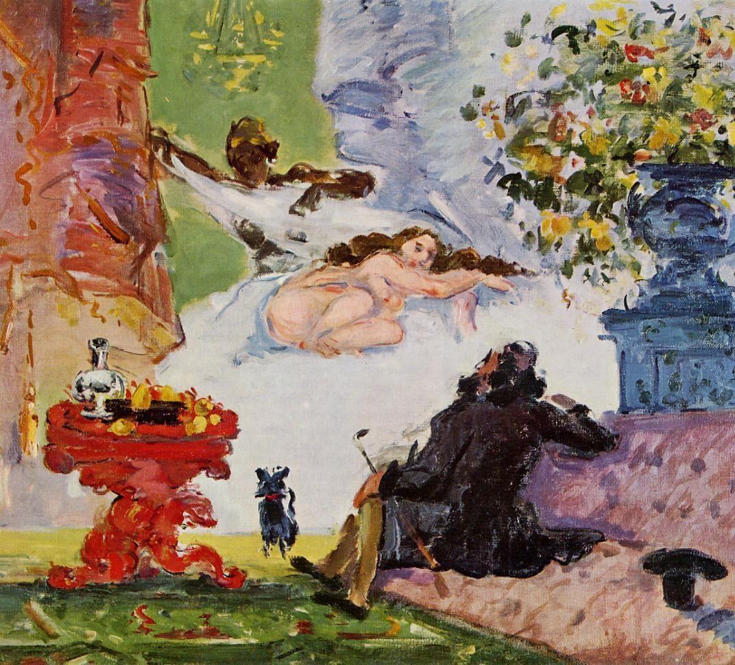 Figura 18 - Paul Cézanne, Uma moderna Olímpia.