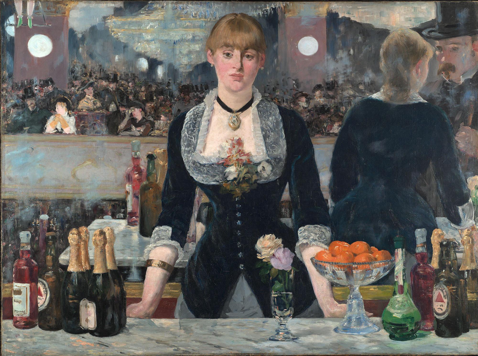 Figura 19 - Édouard Manet, Um bar no Folies-Bergère.