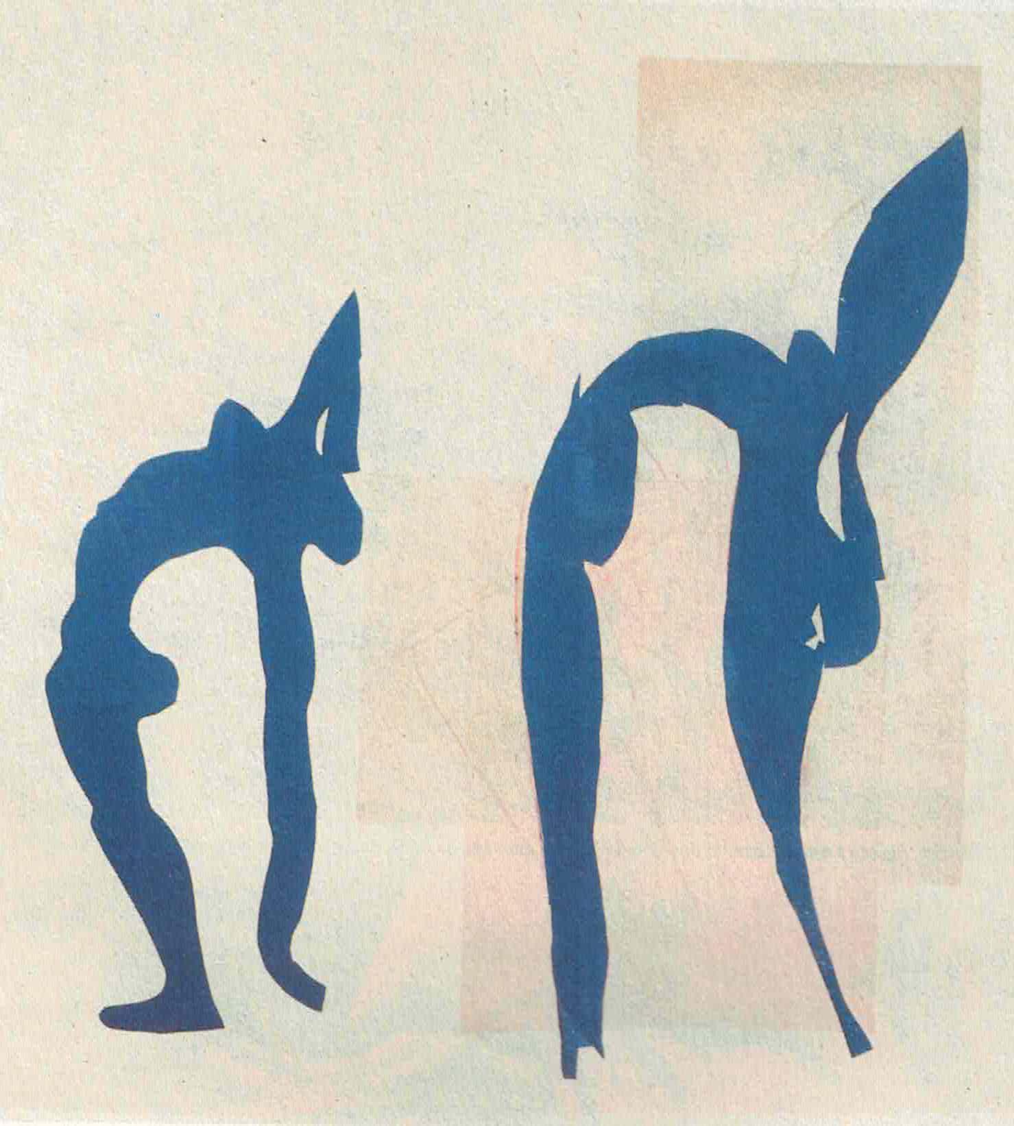 Figura 4 - Matisse. Acrobates (1952). Coleção Privada.