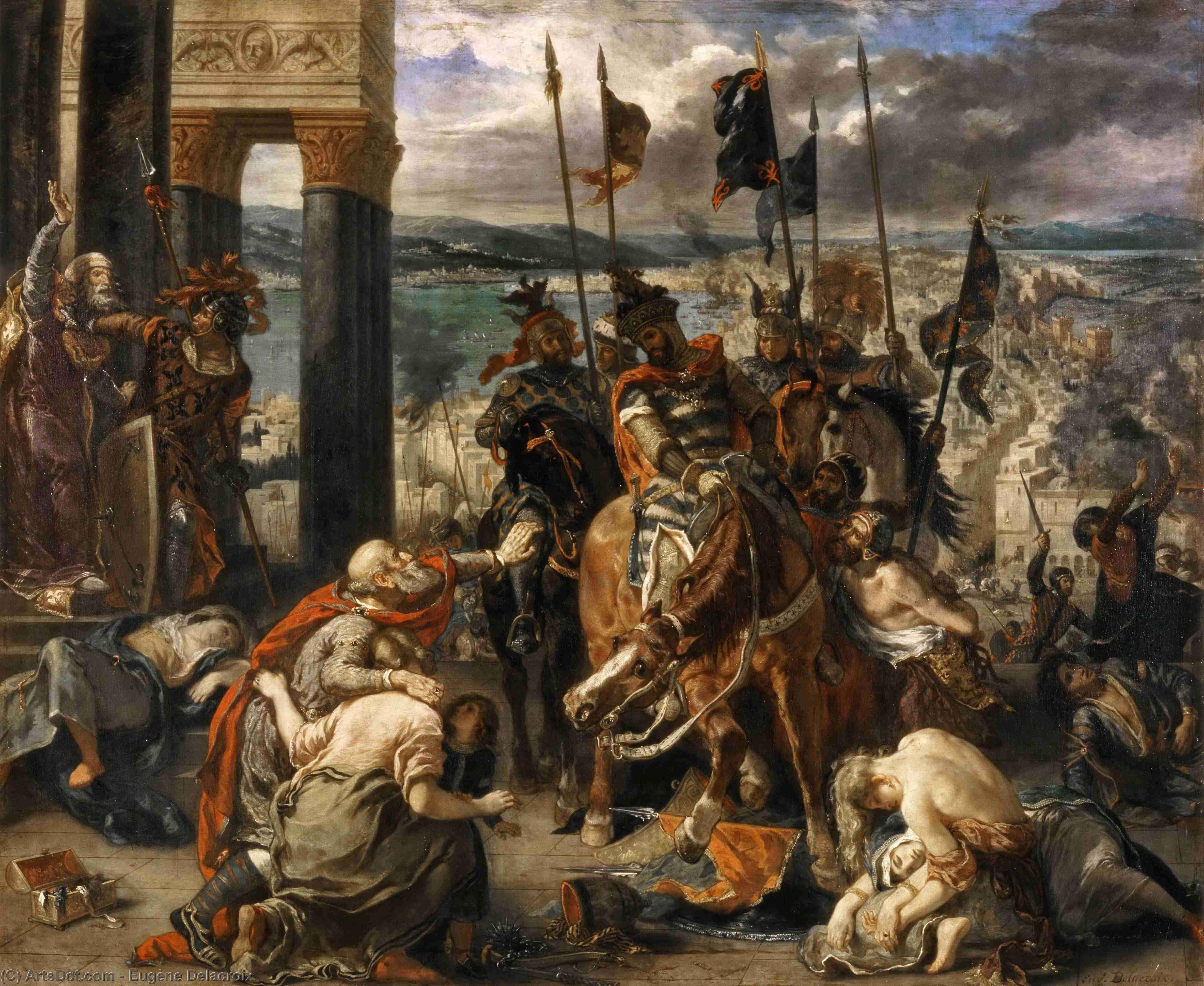 Figure 7. Entrada dos cruzados em Constantinopla (1840). Paris, Louvre
