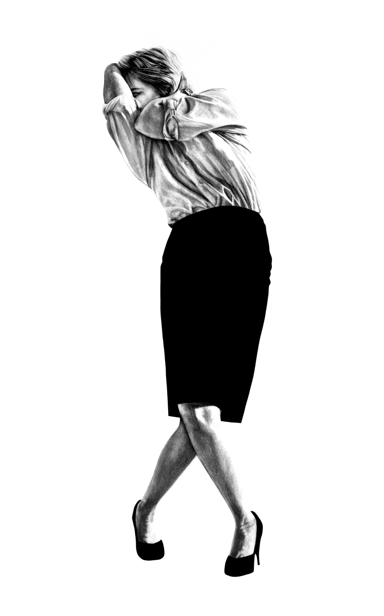 Figura 1 - Roberto Longo, Sem título, 1981.