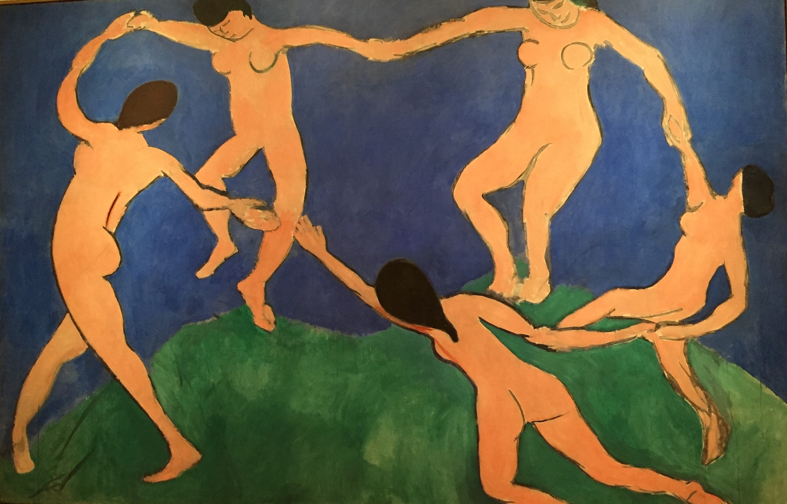 Figure 4 - A dança (1909). Nova York, Museum of Modern Art.