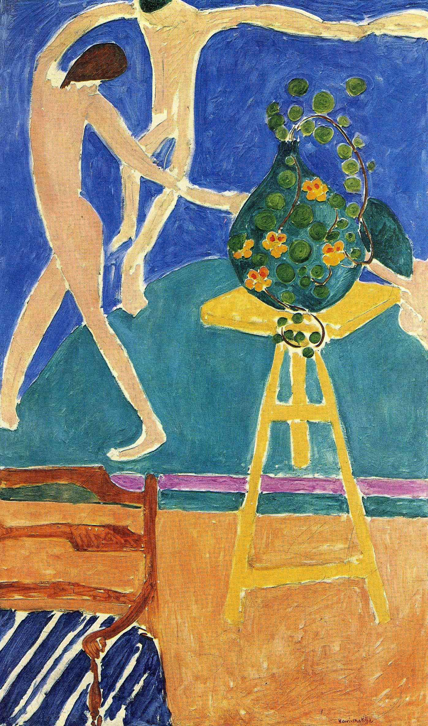 Figure 5 - As capuchinhas com a dança II (1912). Moscou, Museu Pushkin.