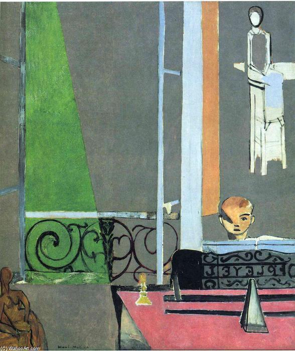 Figure 7 - A lição de piano (1916). Nova York, Museum of Modern Art.