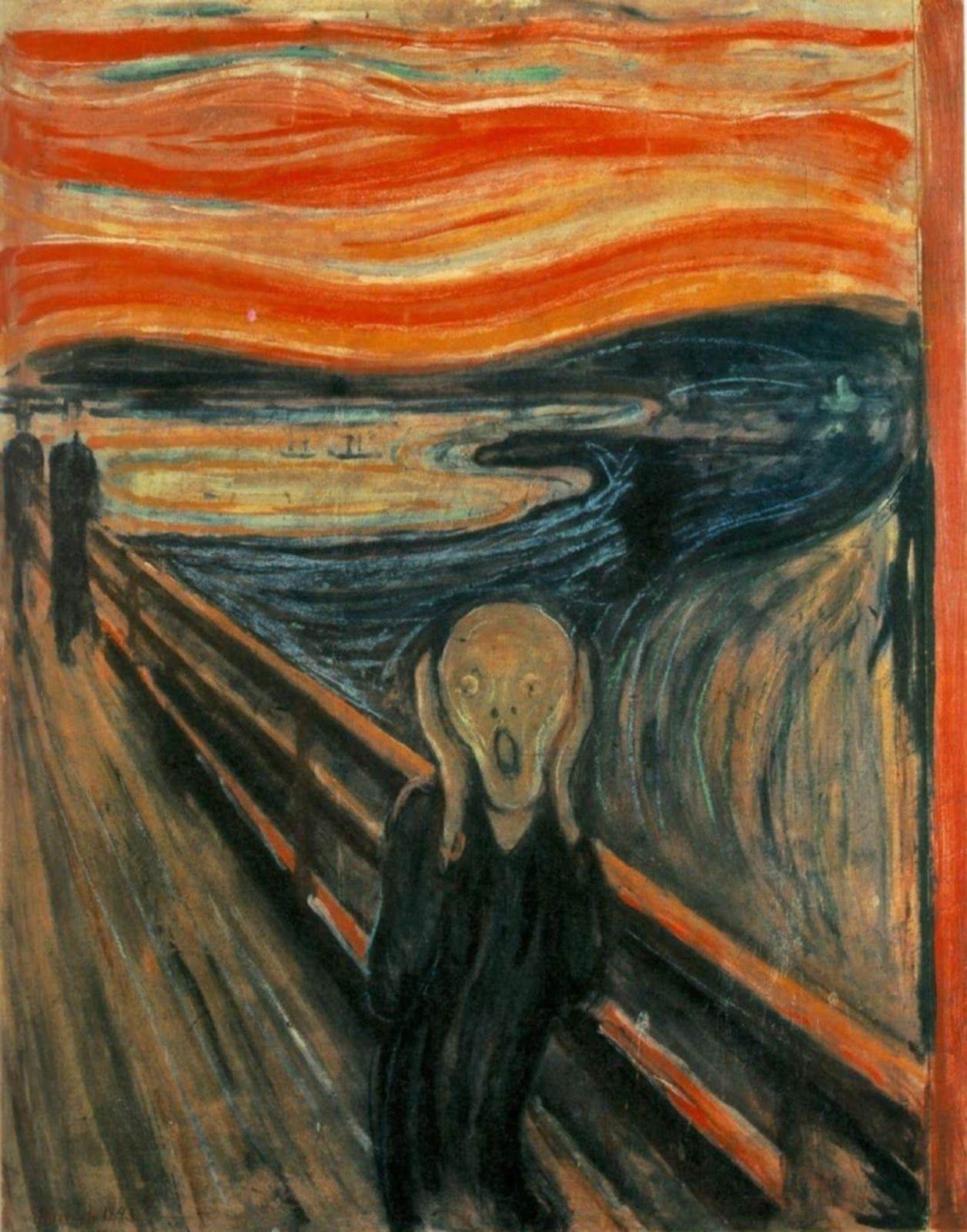 Figure 8. Edvard Munch, O grito (1898). Galeria Nacional, Oslo